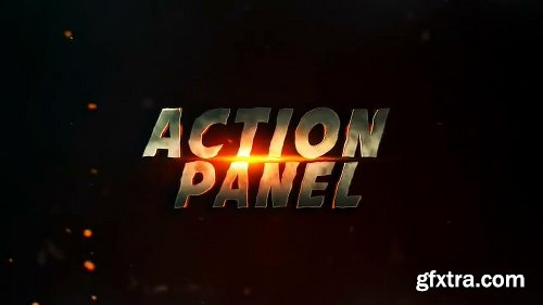 Videohive Action Panel Intro 23865723