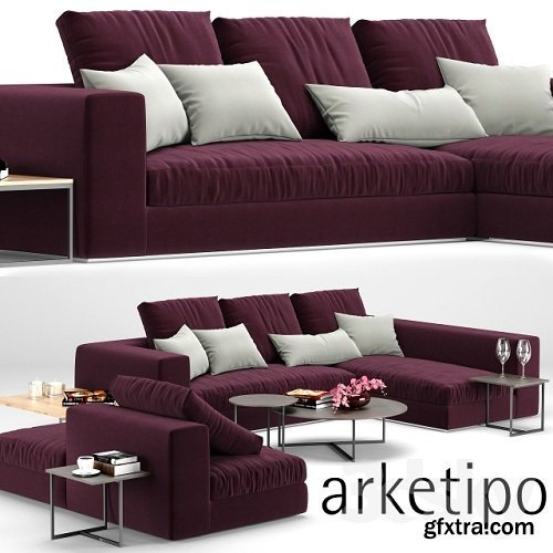 Sofa Marea, Arketipo (composition O)