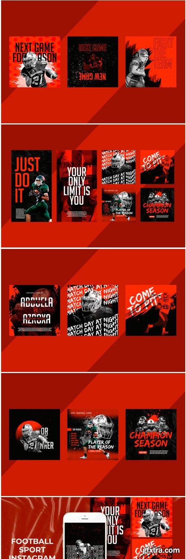 Football Sport Instagram Templates 1778594