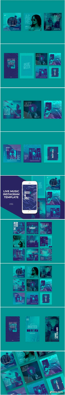 Live Music Instagram Templates 1778608