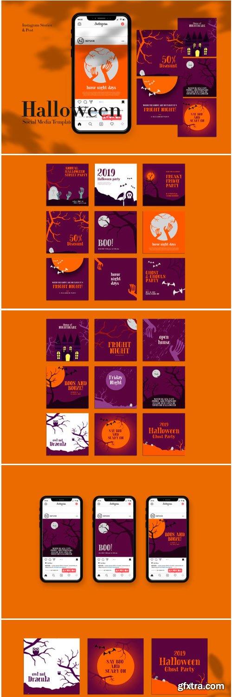 Halloween Instagram Templates 1778616