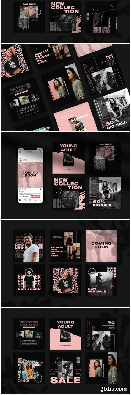 Fashion Instagram Feed Templates 1778648