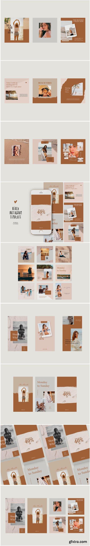Beach Instagram Templates 1778639