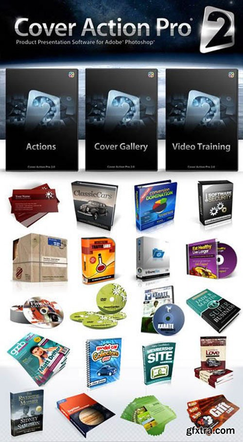 Cover Action Pro 2 - Product Presentation Software for Adobe Photoshop [DVD FULL] (Re-Up)