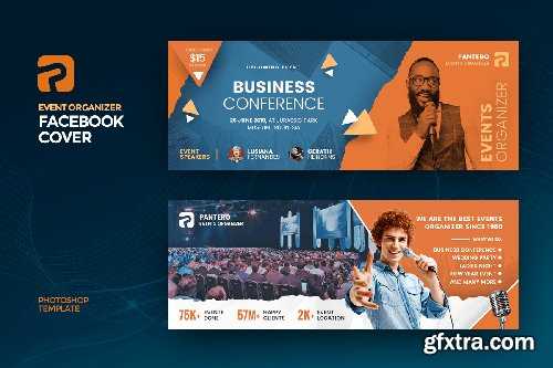 Event Organizer Facebook Cover Template