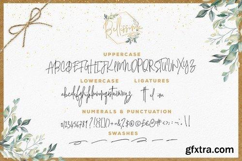 CM - Bellissima Signature Script Font 4117901