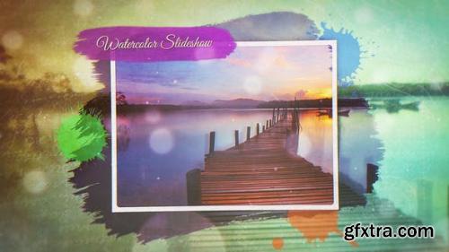 VideoHive Watercolor Slideshow 21758949