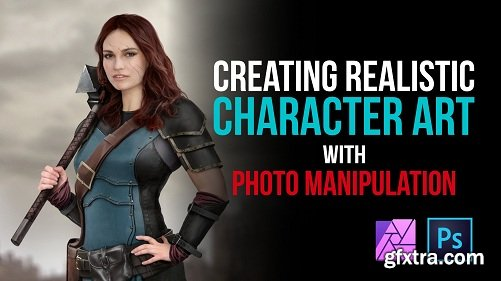 Realistic Character Design - Photo Manipulation, Concept Art, Photoshop Tools and Digital Cosplay