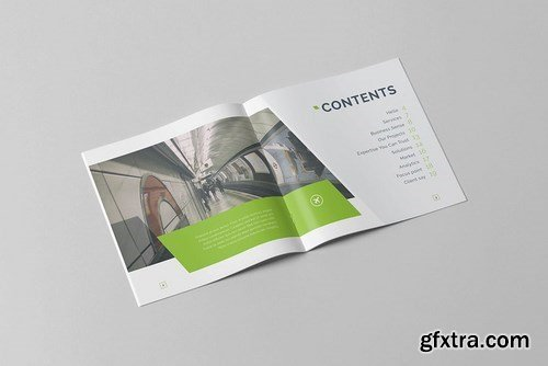 Business Brochure - Square Vol. 1