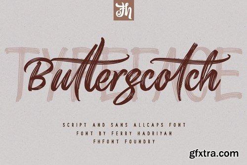 CM - Butterscotch - Handwritten Font 4118126