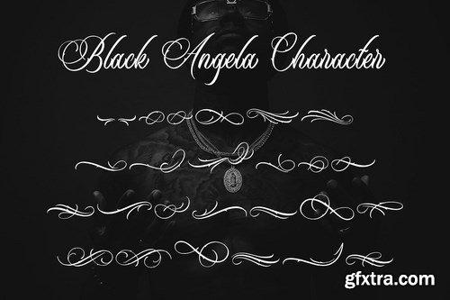 CM - Black Angela Font 4119751