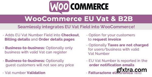 CodeCanyon - WooCommerce Eu Vat & B2B v6.9 - 19463373