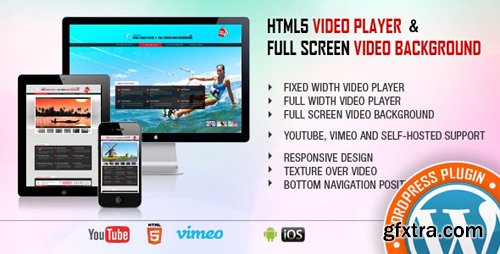 CodeCanyon - Video Player & FullScreen Video Background - WP Plugin v1.9.1 - 9323381