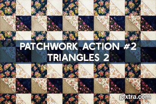 CreativeMarket - PATCHWORK Effect Photoshop TOOLKIT - 248984