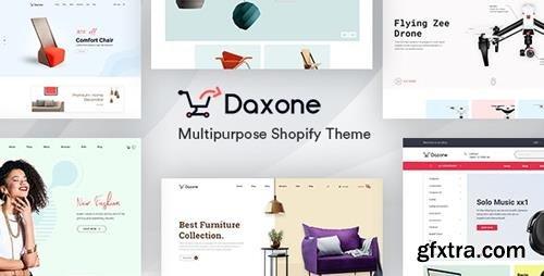 ThemeForest - Daxone v1.0.0 - Multipurpose Shopify Theme - 24605508