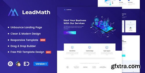 ThemeForest - LeadMath v1.0 - Lead Generation Unbounce Landing Page Template - 22939046