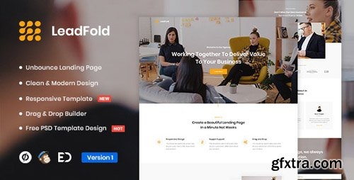 ThemeForest - LeadFold v1.0 - Lead Generation Unbounce Landing Page - 24238855