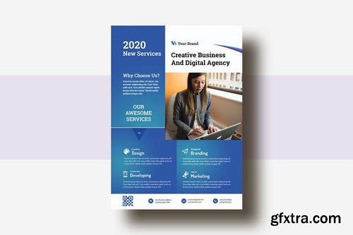 Business & Corporate AD Flyer Template V-26