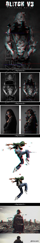 GraphicRiver - Glitch V3 Photoshop Action 24469094