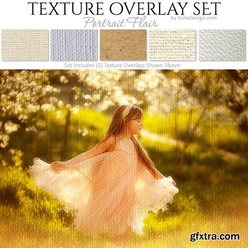 Texture Overlay Set - Portrait Flair