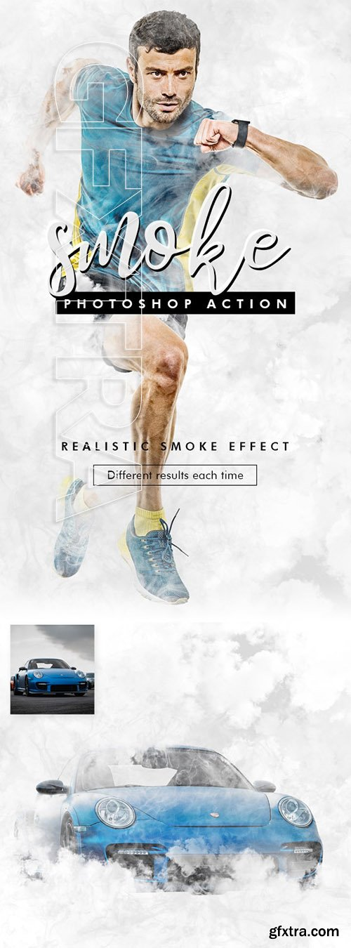 GraphicRiver - Smoke Photoshop Action 24630509