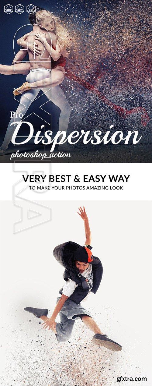 GraphicRiver - Pro Dispersion Photoshop Action 24634349