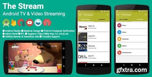 CodeCanyon - The Stream v2.4.0 - TV & Video Streaming App - 19956555 - NULLED