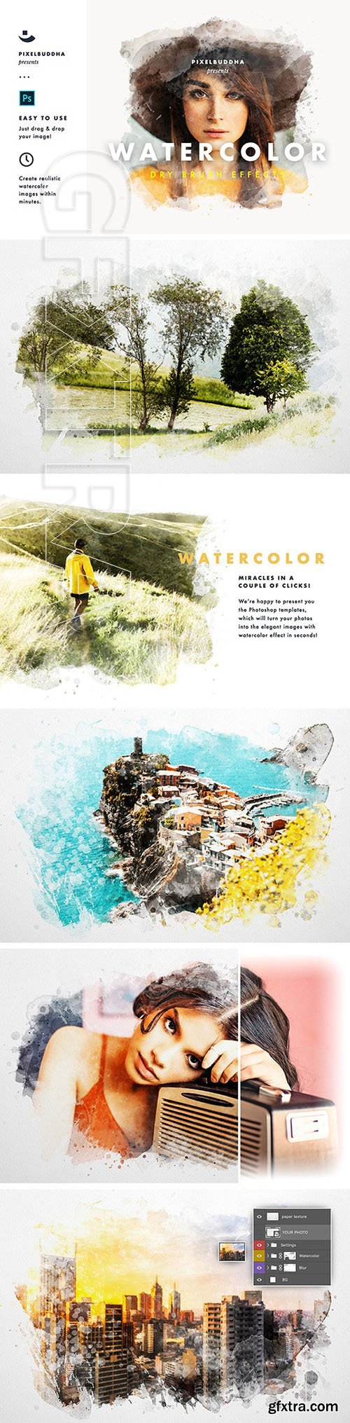 GraphicRiver - Watercolor Dry Brush Effects 24728220