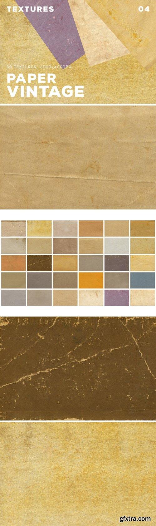 30 Vintage Paper Textures | 04