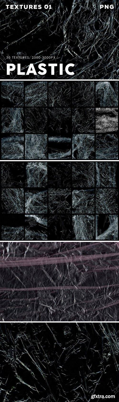 30 Plastic Texture Overlays