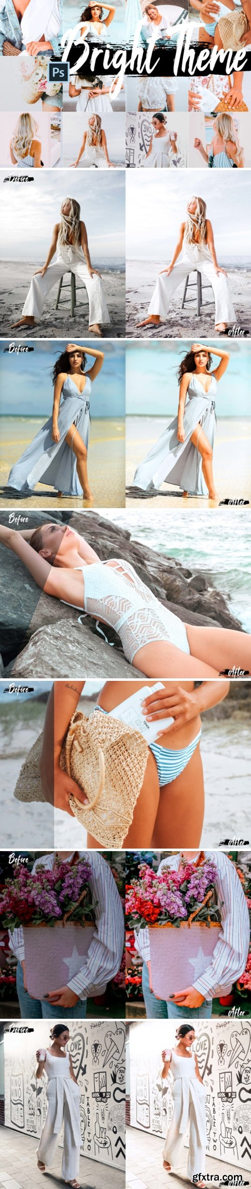 5 Bright Photoshop Actions 1815410
