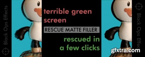 Rescue Matte Filler v1.3 for After Effects