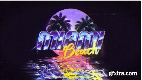 Retro Wave Logo 285102