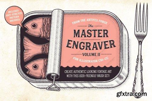 CreativeMarket - The Master Engraver - Brushes 3260325