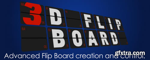 Aescripts 3D Flip Board v1.17 for After Effects