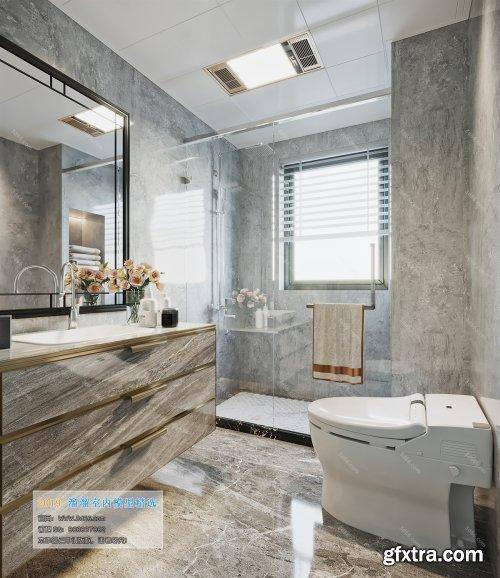 Modern Style Bathroom 25 (2019)