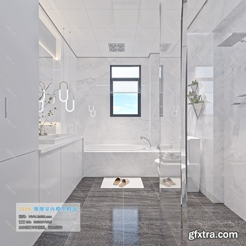 Modern Style Bathroom 26 (2019)