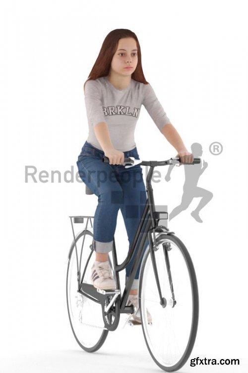 Emily Posed 022 3D Model