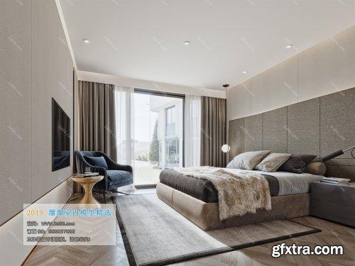 Modern Style Bedroom 89 (2019)