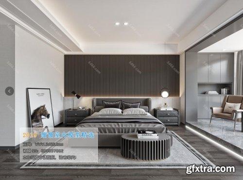 Modern Style Bedroom 91 (2019)