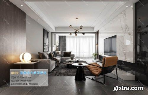 Modern Style Livingroom 104 (2019)