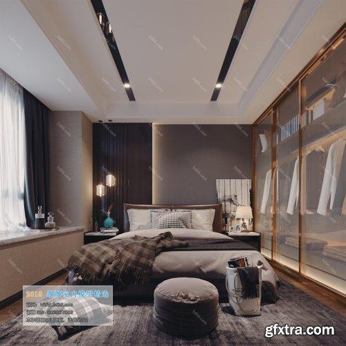 Modern Style Bedroom 93 (2019)