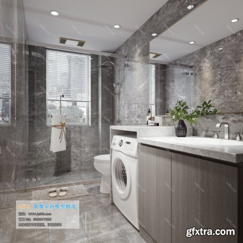 Modern Style Bathroom 30 (2019)