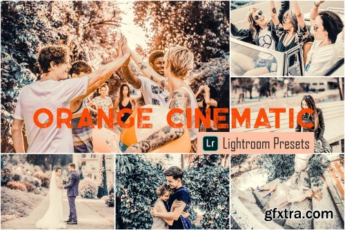 CreativeMarket - Orange Cinematic LR & ACR Presets 4068114
