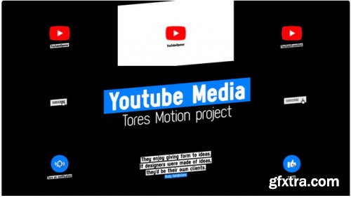 YouTube Media Modern - After Effects 283606