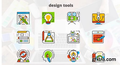Design Tools - Flat Animated Icons - After Effects 282570