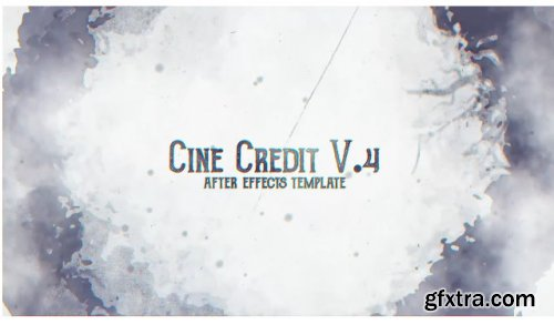 Cine Credit V.4 - After Effects 283307