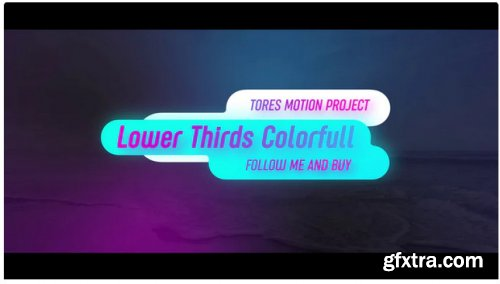 Lower Thirds Colorful - After Effects 283452