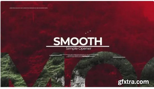 Simple Smooth Opener - After Effects 283875