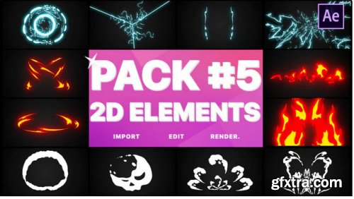 Elements Pack 05 - After Effects 279210